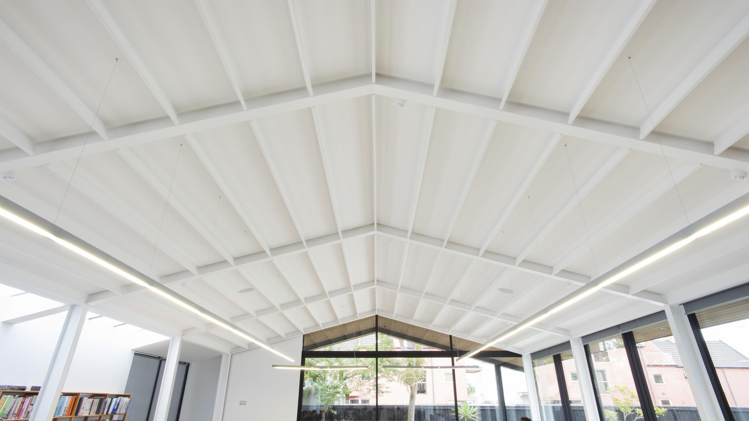 Sheppard & Rout Architects - Baffle Beam